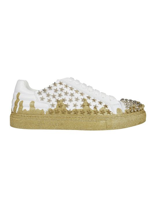 Philipp Plein Low-top Studded Sneakers