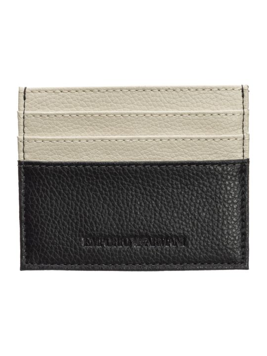 Emporio Armani Swallow Credit Card Holder