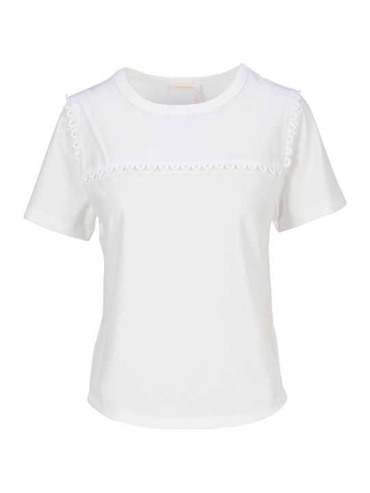 See by Chloé See By Chloe' Embellished T-shirt
