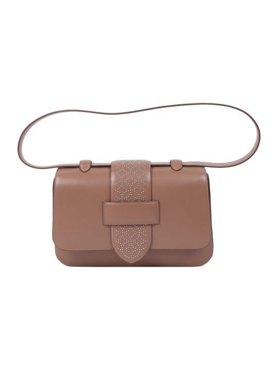Alaia Beige Arabesque Bag