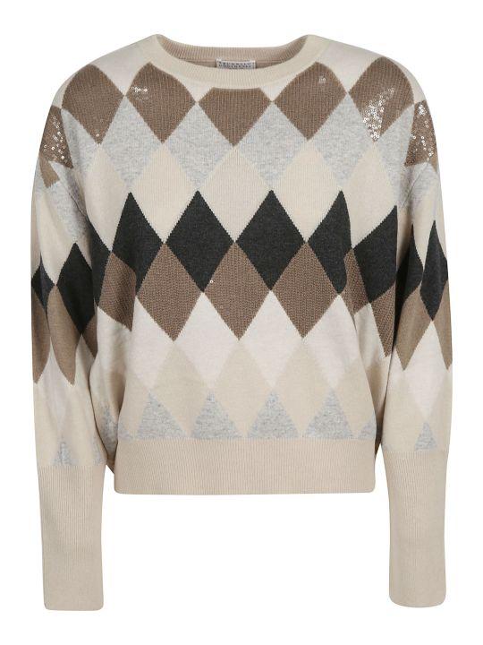 Brunello Cucinelli Sequined Detail Sweater