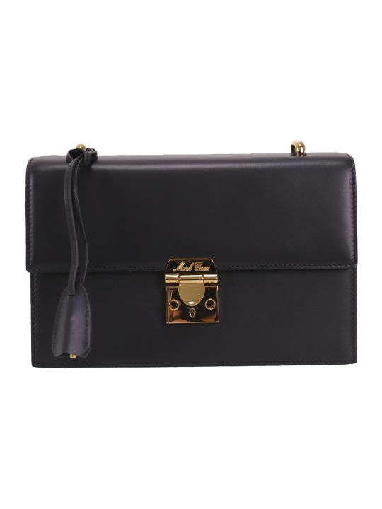 Mark Cross Black Downtown Bag