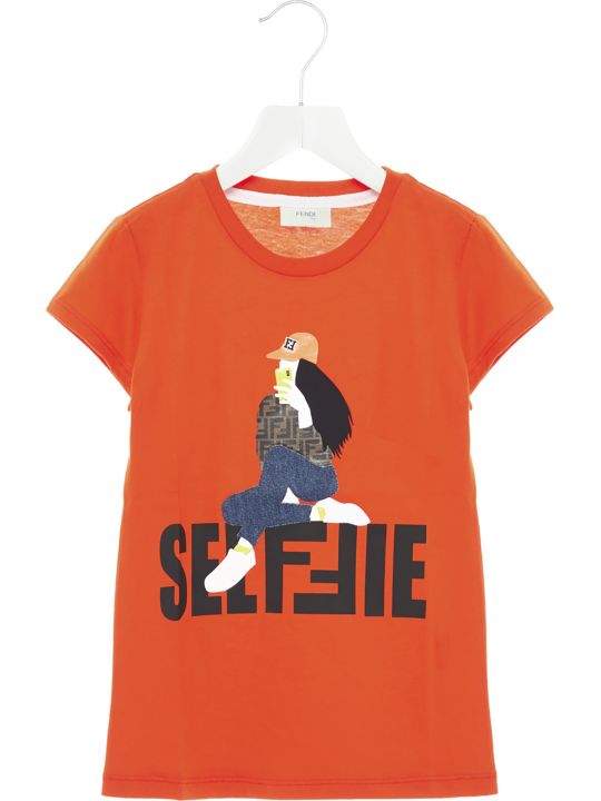 Fendi 'selfie' T-shirt
