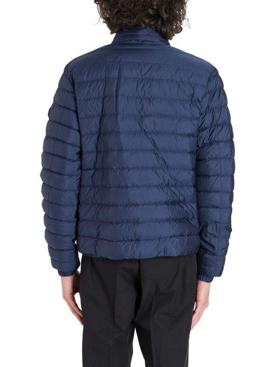 Woolrich Down Jacket With Patch Logo