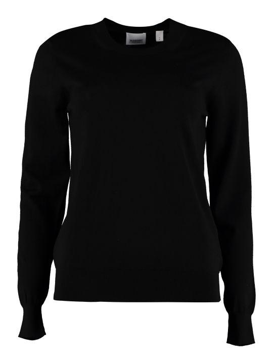 Burberry Crew-neck Wool Sweater