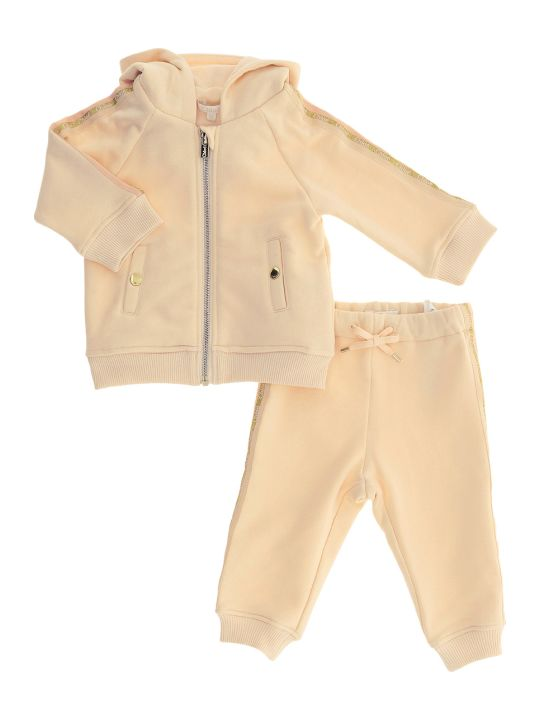 Chloé Two-pieces Jumpsuit With Logo Taping