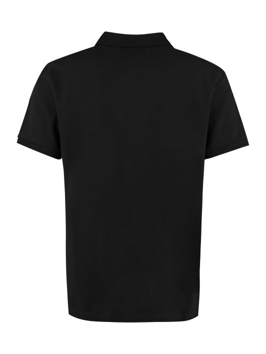 Moschino Short-sleeved Cotton Polo Shirt