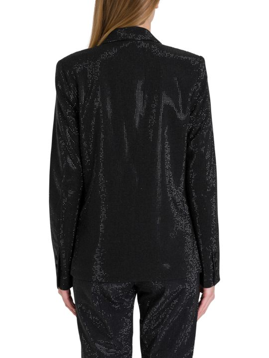 RTA Sasha Blazer Wit Allover Applied Rhinestones