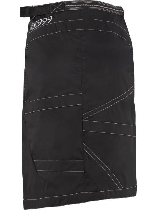 Off-White Techno Fabric Mini-skirt