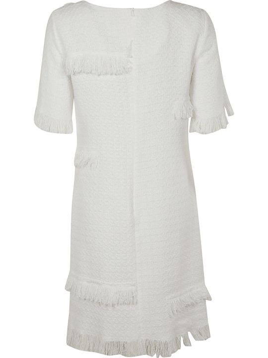 Moschino Fringe Detailed Dress