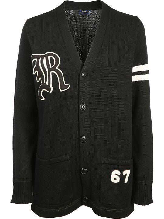 Ralph Lauren Varsity Oversized Cardigan