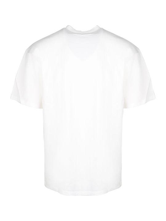 Maison Kitsuné Logo Print Over T-shirt