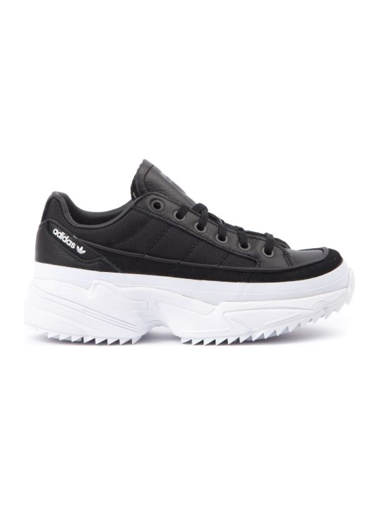 Adidas Originals Kiellor Black & White Cunky Sneakers