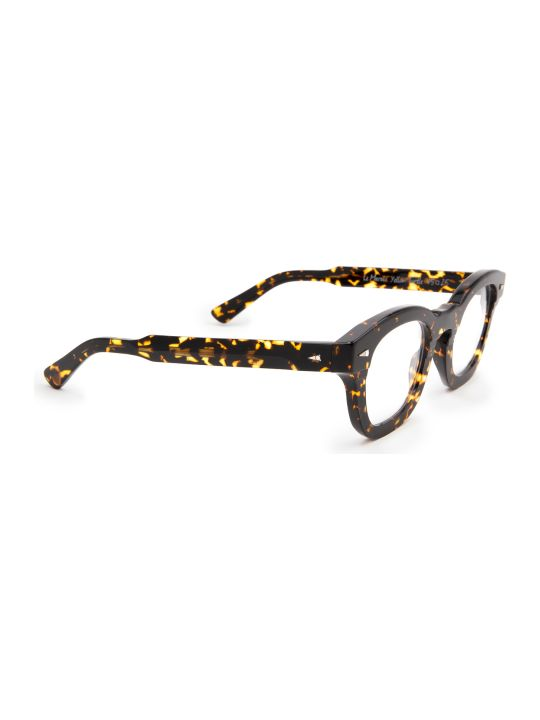 AHLEM Ahlem Le Marais Optic Yellow Turtle Glasses