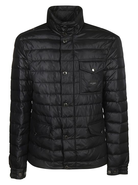 Dolce & Gabbana Buttoned Padded Jacket