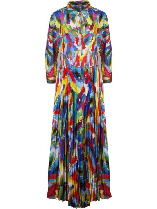 Sara Roka Tosca Pleated Dress