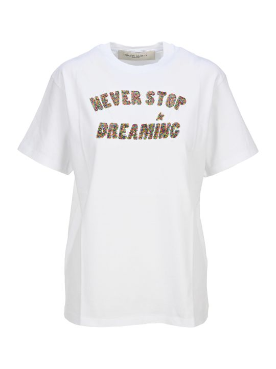 "Golden Goose ""never Stop Dreaming"" T-shirt"