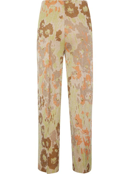 Circus Hotel Straight-leg Printed Trousers