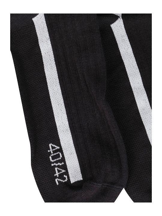 Y-3 Black Cotton Socks
