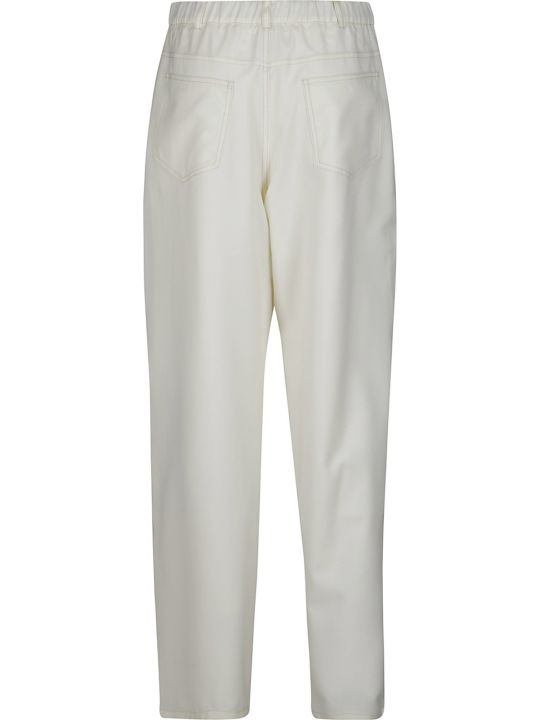 Agnona Stitched Pocket Trousers