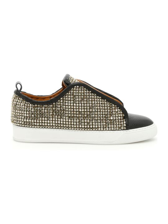 Black Dioniso Crystal Sneakers