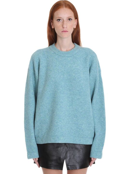 T by Alexander Wang Knitwear In Green Wool