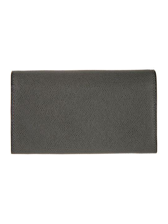 Valextra Foldover Top Wallet
