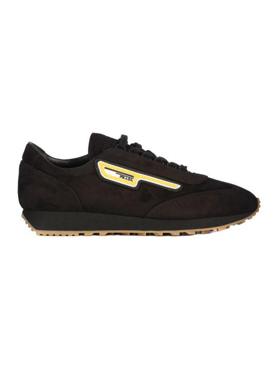 Prada Suede Running Sneakers/scamosciato Milano 70