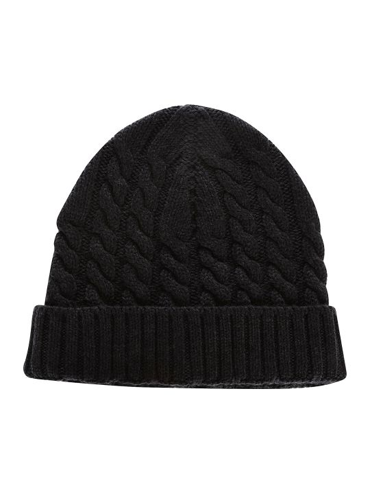 Eleventy Cable Knit Beanie