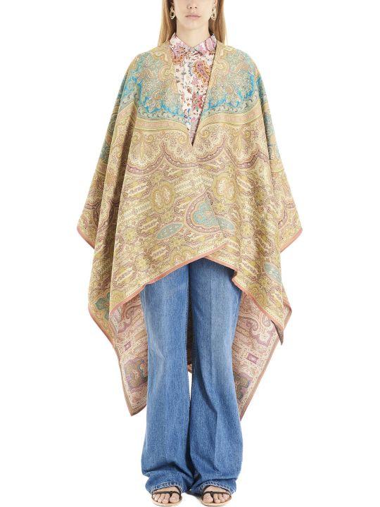 Etro 'paisley'  Cloak
