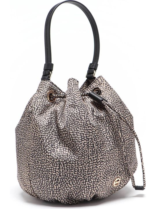 Borbonese Bucket Bag Small