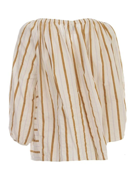 Forte_Forte Shirt Voille W/stripes