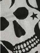 Alexander McQueen Mystical Oversize Skull Scarf - Nero
