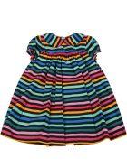 Sonia Rykiel Multicolor Dress For Babygirl - Multicolor