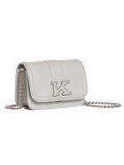 Kiton Mini Sofia - Bag Deerskin - MEDIUM GREY