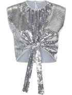 Paco Rabanne Top - Silver