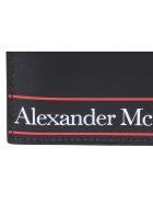 Alexander McQueen Logo Cards Holder - Black