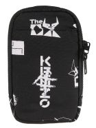 Kenzo Printed Phone Shoulder Bag - Black/White