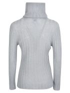 f cashmere Rosa Sweater - Grey