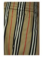 Burberry Marsett - Icon Stripe Silk Shorts - Archive Beige