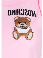Moschino 'teddy Reverse' Top - Pink