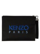 Kenzo Tiger Large Clutch - Black