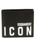 Dsquared2 Icon Wallet - Black/White