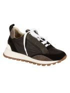 Brunello Cucinelli Classic Lace-up Sneakers - Black/Grey