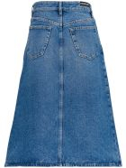 Balenciaga Long Denim Skirt - Blu