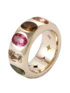 Lo Spazio Jewelry Lo Spazio Multi Colored Tourmaline Ring - Multicolor