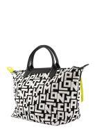 Longchamp Le Pliage Lgp - Top Handle Bag M - Black/white