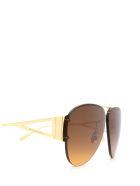 Bottega Veneta Bottega Veneta Bv1065s Gold Sunglasses - Gold