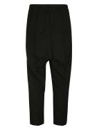 Rick Owens Drawstring Astaires Cropped Trousers - Black