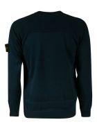 Stone Island Round Neck Sweatshirt - Blue